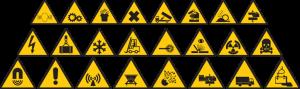 hazardous signs PNG