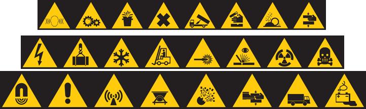 Hazardous Waste Symbols